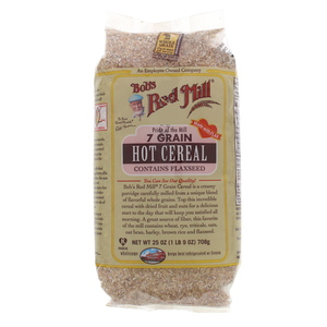 Bob's Red Mill 7 Grain Hot Cereal Contains Flaxseed 708g