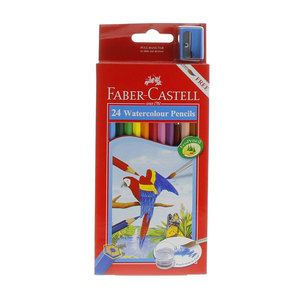 Faber Castell Water Color Pencil 24 Pieces