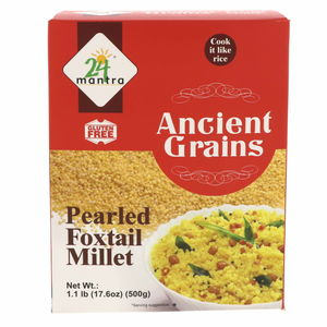 24 Mantra Ancient Grains Pearled Foxtail Millet 500g