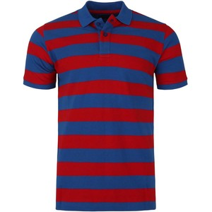 De Backers Men's Polo Royal-Red YD06