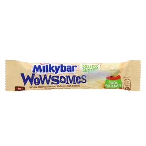 Nestle Milkybar Wowsomes White Chocolate with Crispy Oat Cereal 18g