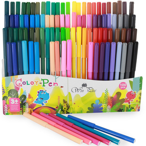 Win Plus Coloring Pens 100's 848