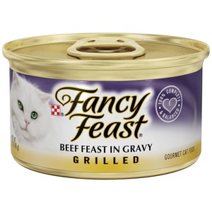 Purina Fancy Feast Grilled Beef Wet Cat Food 85 Gm