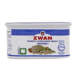 Zwan Turkey Luncheon Meat With Herbs 200g