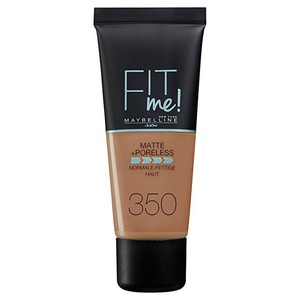 Maybelline Fit Me Matte And Poreless Foundation 350 Caramel 1pc