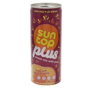 Sun Top Plus Peach Mix Juice With Pulp 240ml