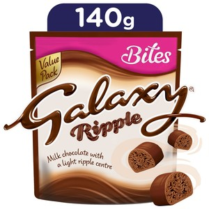 Galaxy Ripple Chocolate Bites 140g