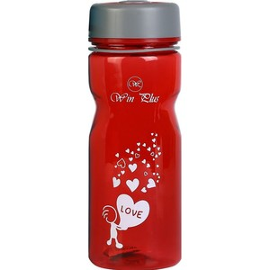 Win Plus Water Bottle 7335 600ml Assorted