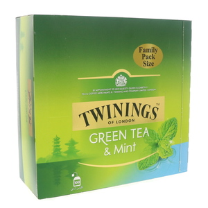 Twinings Green Tea And Mint Tea Bags 100Pcs