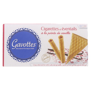 Gavottes Crispy Rolled And Fan Wafers100g
