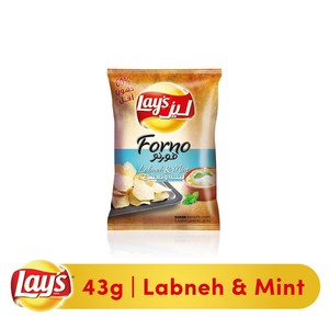 Lays® Forno Labneh Mint Potato Chips 43g