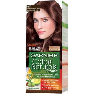Garnier Color Naturals 6.7 Pure Chocolate Brown Hair Color 1 Packet