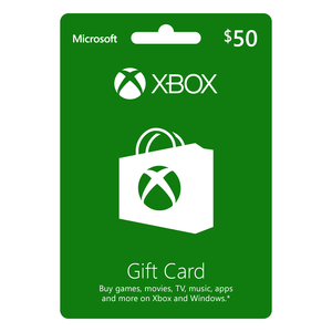 Xbox Live Digital Gift Card 50 USD [Digital Download]