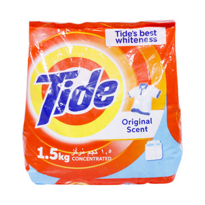Tide Washing Powder Top Load Original Scent 1.5kg