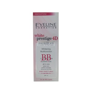 Eveline White Prestige 4D Whitening Multi Function BB Cream 50ml
