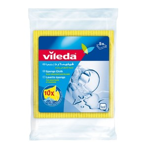 Vileda Sponge Cloth Cleaning Cloth 5pcs