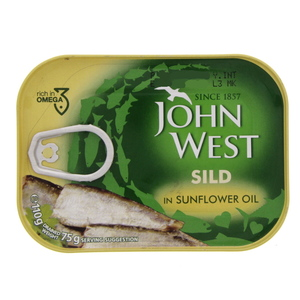 John West Sild In Sunflower Oil 110g