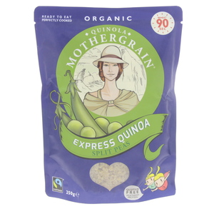 Quinola Mother Grain Organic Express Quinoa Split Peas 250g