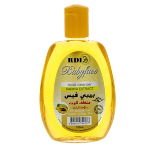 Rdl Papaya Facial Cleanser 150ml