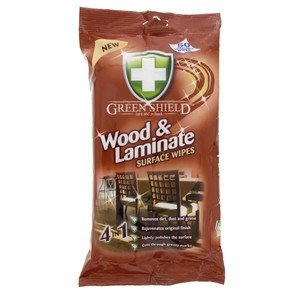 Green Shield Wood & Laminate Surface Wipes 50pcs
