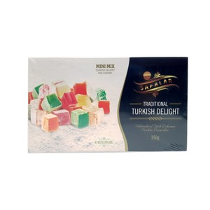 Safalar Traditional Turkish Delight Mini Mix Original 350g