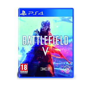 PS4 Battlefield-V + Battlefield-V Pin