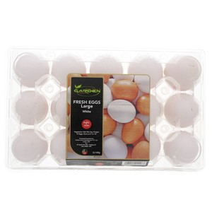 Garden Fresh White Egg Large 15s