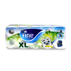 Fine Toilet Roll 2Ply 10pcs