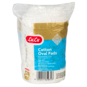 Lulu Cotton Oval Pads 40pcs