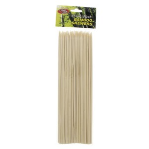 Home Mate Bamboo Skewers 25cm 100pcs
