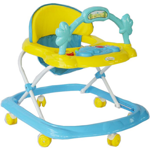 First Step Baby Walker 355 Yellow/Blue