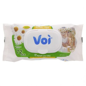Voi Baby Wet Wipes Pure Chamomile 1pkt 72pcs