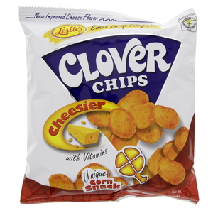 Leslies Clover Cheesier Chips 55g