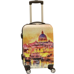 Wagon R Venice 4 Wheel Hard Trolley 26inch