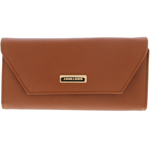 John Louis Women's Wallet X308 Brown
