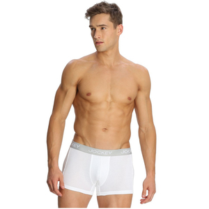 Mens Jockey Elance Modern Trunk Small White