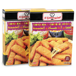 Al Kabeer Chicken Cheese Stick 250g x 2pcs