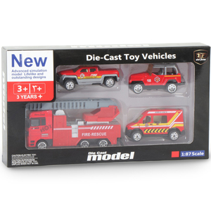 Skid Fusion Die-Cast Toy Vehicles TN1046E