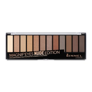 Rimmel London Magnif'Eyes Eye Contouring Palette- Nude Edition 1pc