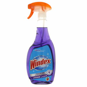 Windex Streak Free Shine Glass Cleaner Lavender 750ml