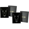 Necklace Set With Box 1Piece (Color -Gold/Silver)