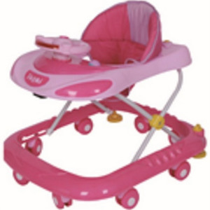 First Step Baby Walker W618S Pink