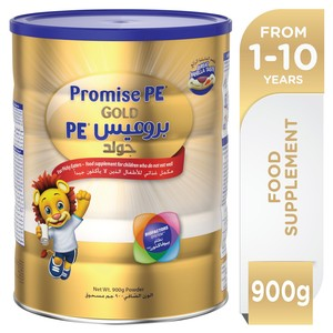 Wyeth Nutrition Promise PE Gold 1-10 Years Premium Milk Powder For Kids 900g