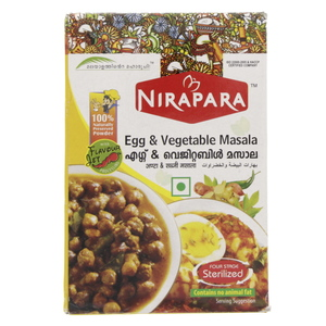 Nirapara Egg And Vegetable Masala 200g