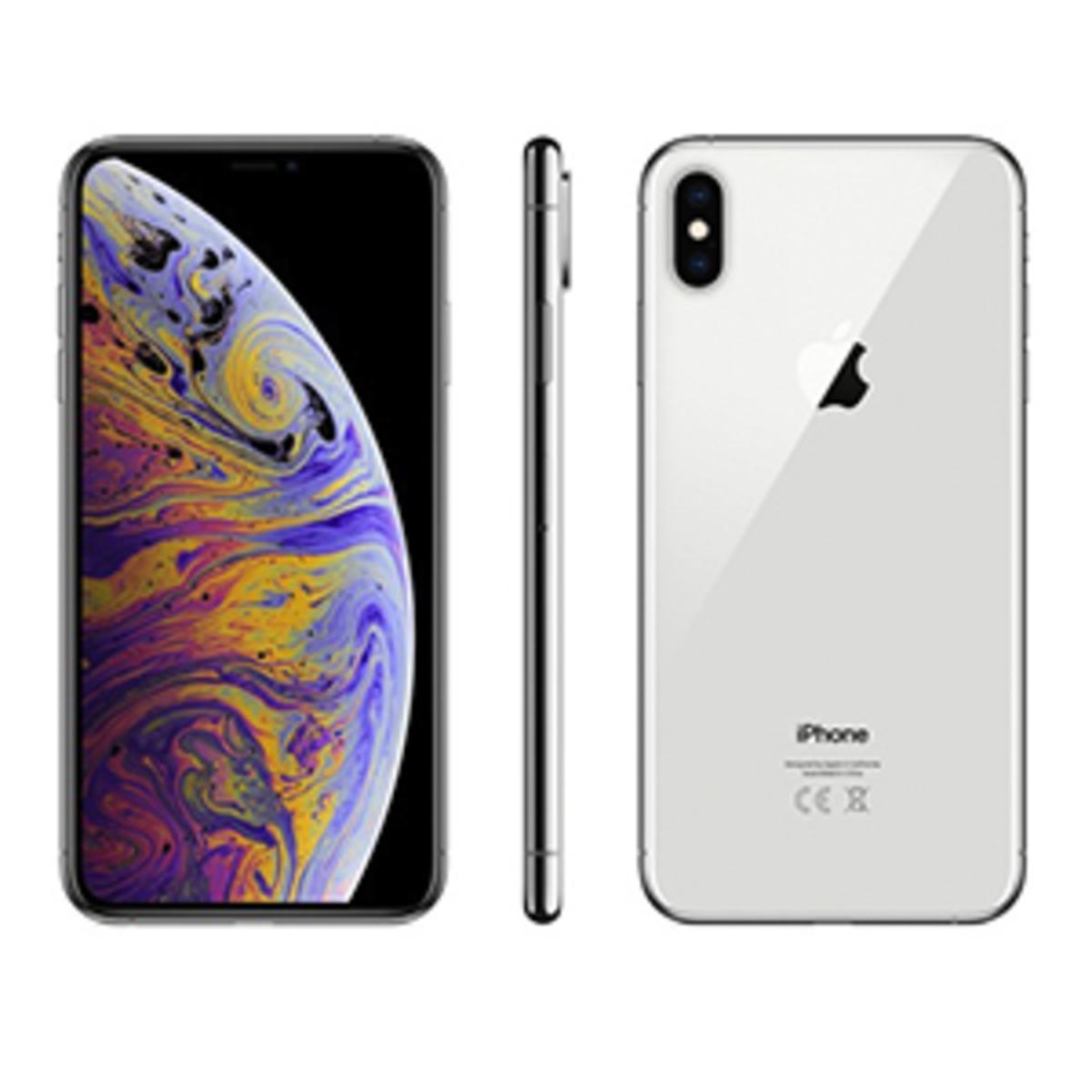Buy Apple Iphone Xs Max 512gb Silver Online Lulu