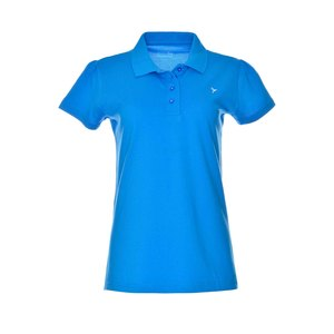 Eten Ladies Basic Polo T-Shirt Shoreline Blue