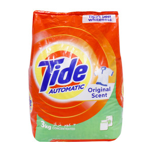 Tide Washing Powder Front Load Original 3kg