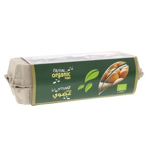 Orvital Organic Eggs Medium 10pcs