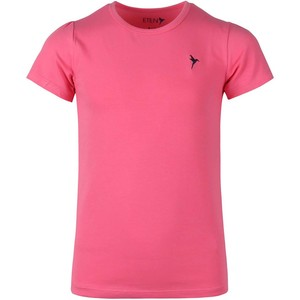 Eten Girls Basic Round-Neck Short Sleeve Hot Pink 9-16 Y