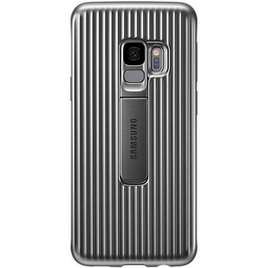 Samsung Galaxy S9 Protective Standing Cover Silver EF-RG960CSEGWW